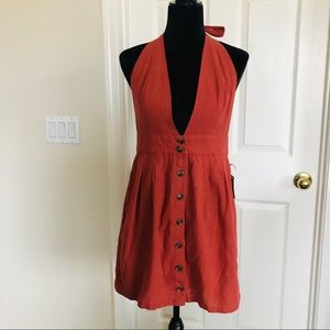 Forever 21 contemporary halter dress